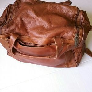 Cortez Bags - Cortez Colombian Leather Brown Travel Duffle Bag